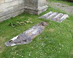 Group of 5 Graves @ St Mary & St Stephen, Wolsingham  2003