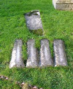 Group of 5 Graves @ St Mary & St Stephen 2005