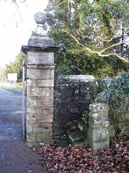 Gate Piers, Gates, etc @ St Brandon, Brancepeth 2003