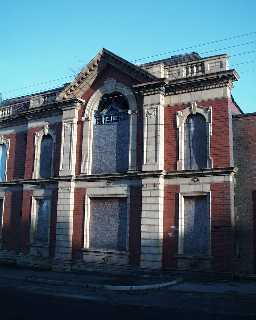 Miners' Memorial Hall - right detail 2003