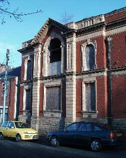 Miners' Memorial Hall - left detail 2003