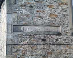 Stone Baliol Street Sign  © DCC 2003