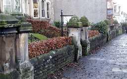 Walls at 77, 79 & 81 Galgate  © DCC 2003