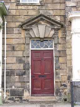 Doorway detail, 25 Market Place, Barnard Castle  © DCC 2006