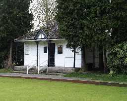 Bowling Club Pavilion E of Bowes Museum,  © DCC 2003