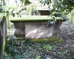 Hickson Chest Tomb, S of St Mary's  © DCC 2004