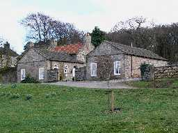 Former Outbuildings,   W of Old Smithy, Barnigham  © DCC 2006