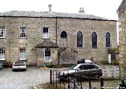 Lartington Hall - rear entrance elevation) © DCC 2002