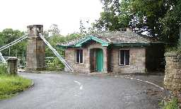 Toll House at NW end of Whorlton Bridge 2002