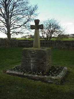 Esh Cross (restored).  November 1999