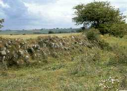 Lanchester Fort south-east rampart. c.1999