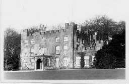 Coxhoe Hall, south front  c.1910