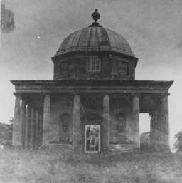 Temple of Minerva, east facade.  Early 20th century