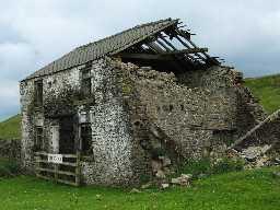 Lead mine at Lady's Rake (County Durham)