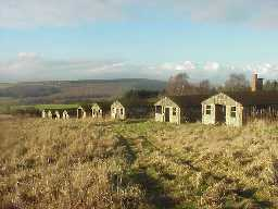 Harperley P.O.W Camp looking West. January 2001