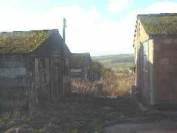 Low Harperley P.O.W Camp. View looking South.  January 2001