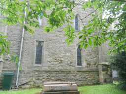 photograph of grave beside St. Mary's Church 2016