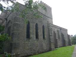 Photograph of side of St. Mary's Church 2016