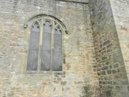 photograph of St. Mary's Church window 2016