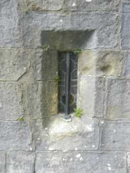 photograph of small window on St. Mary's Church 2016