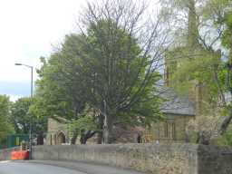 Road view photograph St. Andrew's Church 2016