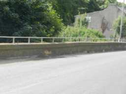 Photograph of road over bridge over Broomside Cutting 2016