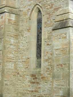 Window of St. John the Evangelist's Church, Lynesack 2016