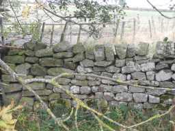 Wall near Old Bridge over Nor Beck, 2016 2016