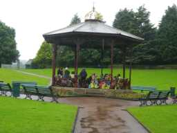 Photograph of Bandstand opposite Ravensworth Terrace 2016