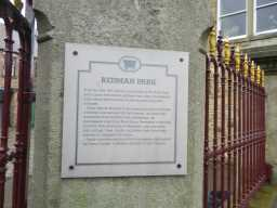 Photograph of Bandstand plaque 2016