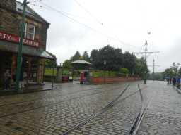 Photograph of Bandstand and tram lines 2016