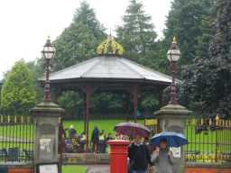 Photograph of Bandstand and gates 2016