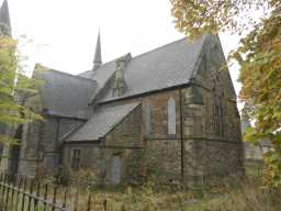 Front of Church of St. Aidan, Dec 2016 2016
