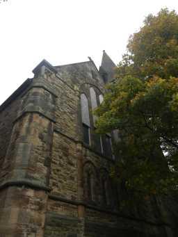 Windows of Church of St. Aidan, December 2016 2016