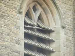 Close-up of Window, of Church of St. Aidan, December 2016 2016