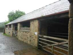 Photograph of stables at Beamish Hall Farm 2016