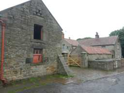 Photograph of front of Beamish Hall Farm buildings 2016