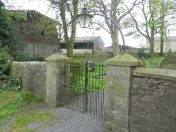 Photograph of St. Bartholomew's Church gates 2016
