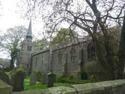 Photograph of side of St. Bartholomew's Church 2016
