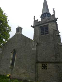 Photograph of back of St. Bartholomew's Church 2016