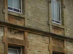 Photograph of Primitive Methodist Chapel windows 2016
