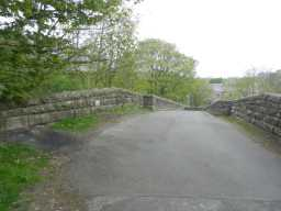 Photograph of road over Haswick's Bridge 2016