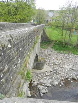 Photograph of side of Haswick's Bridge 2016