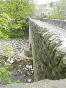Side view photograph of Haswick's Bridge 2016
