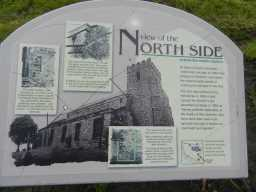 Photograph of North side sign at St. Mary's Church 2016