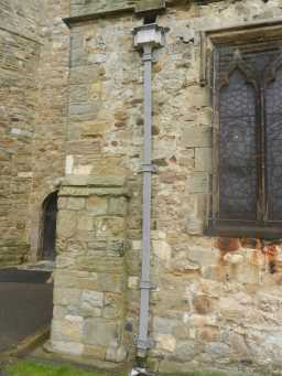 Photograph of pipe at St. Mary's Church 2016