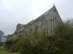 Photograph of back of St. Mary's Church 2016