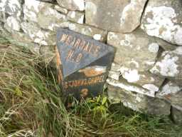 Photograph to right of Milepost 2016