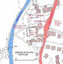 Westgate Castle or Gate Castle © Ryder, P 2006