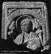 Anglo-Saxon stone carving from Rothbury (Northumberland)